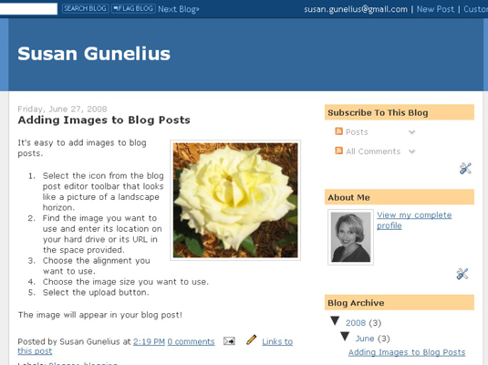 Create a Table of Contents on Blogger