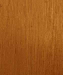 Oak is commonly used for flooring and furniture because many people love its grain.