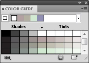 The Color Guide panel identifies related colors.