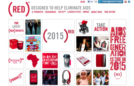 Product (RED) has raised over $150 million for the Global Fund HIV and AIDS programs through cause