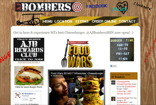 AJ Bombers tantalizes the cheeseburger vice!