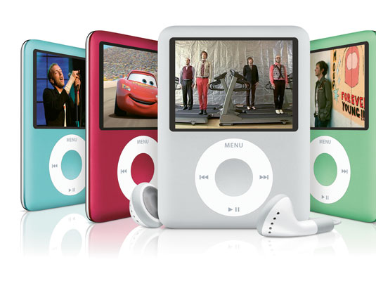 View the iPod nano, the smallest iPod that can display video.