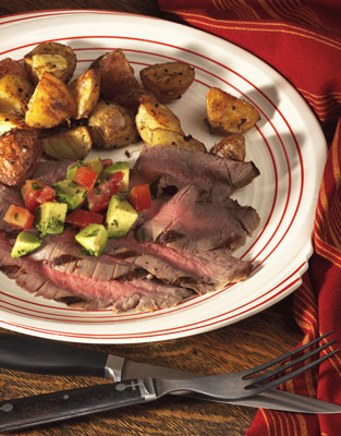 Mediterranean Steak and Potatoes
