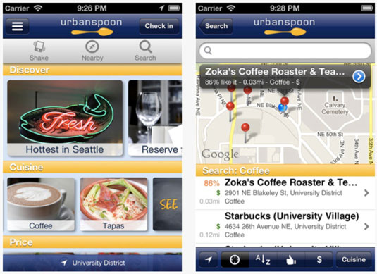 The iPhone version of the Urbanspoon app has been downloaded more than 20 million times.