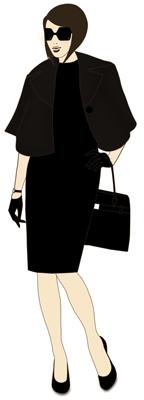 The fashionista.