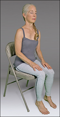 <b>Figure </b><b>10</b><b>:</b> Seated relaxation.