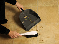 Use non-electric tools when possible to clean more greenly.