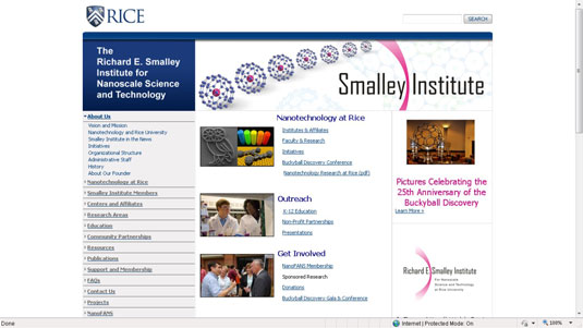 The Smalley Institute at Rice University.