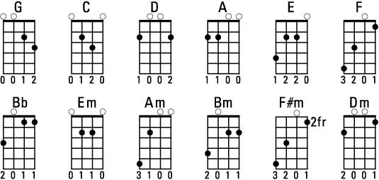 Guitar 12 string guitar chords : 12 String Guitar Chords