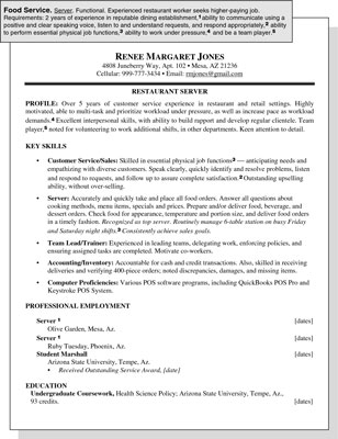 curriculum vitae samples. This resume sample is intended