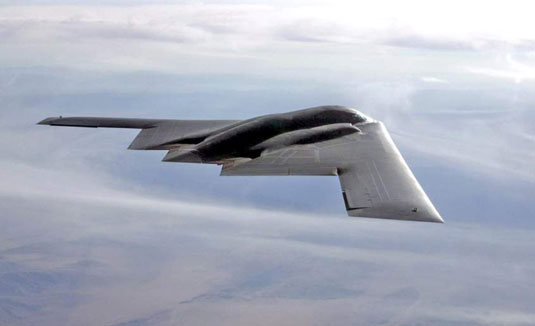 B-2 Spirit (U.S. Air Force). [Credit: Photograph courtesy of www.af.mil]