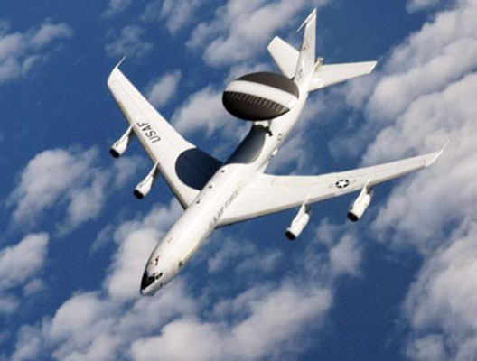 E-3 Sentry (U.S. Air Force). [Credit: Photograph courtesy of www.af.mil]
