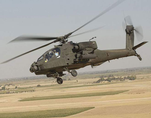 AH-64 Apache (U.S. Army). [Credit: Photograph courtesy of <a href=