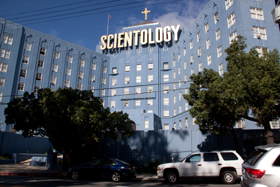 The Church of Scientology building (known as