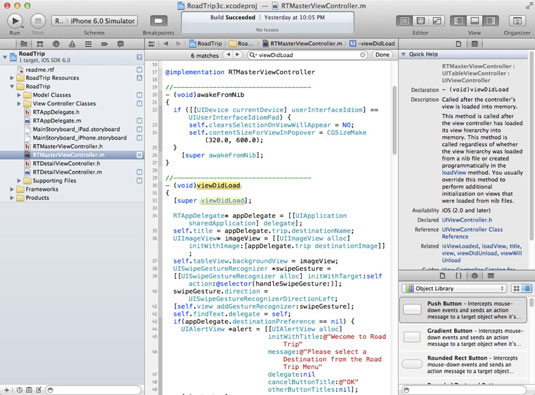 You can use Find to locate something in a file in Xcode.