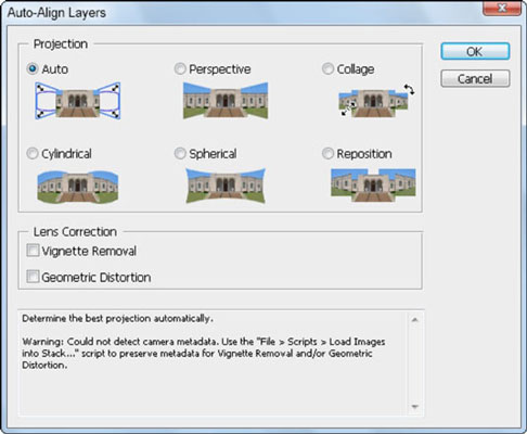 The Auto-Align Layers feature can help create a better composite.
