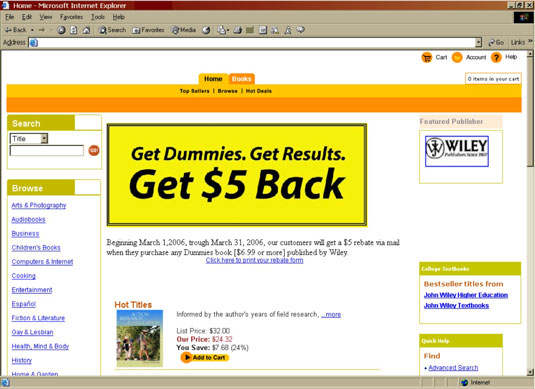 banner ads examples. Internet anner ad.