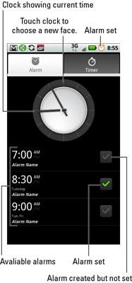 The Alarm & Timer App.