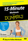 15-Minute Workout For Dummies (DUM22) cover image