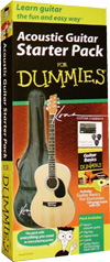 Acoustic Guitar Starter Pack For Dummies  (DUM35) cover image