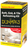 Bath, Sink, & Tile Refinishing Kit For Dummies (DUM90) cover image