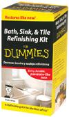 Bath, Sink, & Tile Refinishing Kit For Dummies (DUM90) cover image