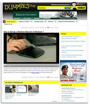 Dummies.com Online Advertising