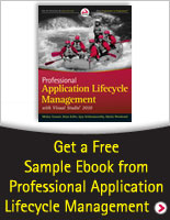 Get a Free Sample Chapter from Professional Application Lifecycle Management