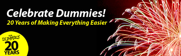 Celebrate Dummies Month! Want to get back $5? Easy.