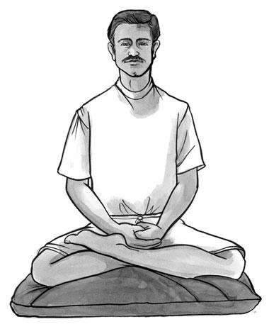 100 breaths meditation