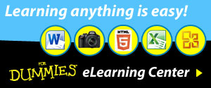 Learning anything is easy with For Dummies eLearning!