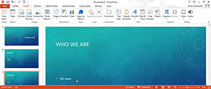 How to Add Comments to PowerPoint 2013 Presentations