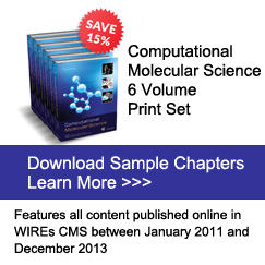 Computational Molecular Science 6 Volume Print Set
