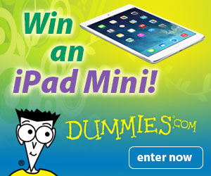 Win an iPad Mini! Enter to win now.