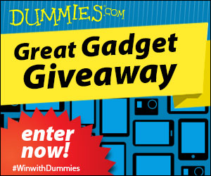 Great Gadget Giveaway -- Enter to Win!