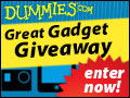 #WinWithDummies in our Great Gadget Giveaway!