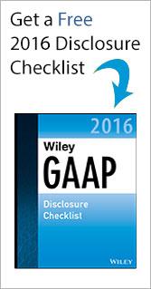 Get a Free 2016 Disclosure Checklist