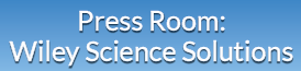 Press Room: Wiley Science Solutions