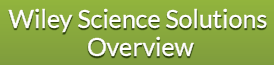 Wiley Science Solutions Overview