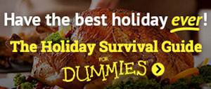 Have the best holiday ever! The Holiday Survival Guide For Dummies