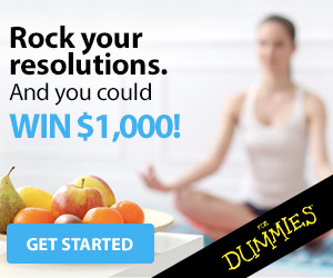 Rock your resolutions. Take the Dummies challenge and you could WIN $1,000! Get Started.