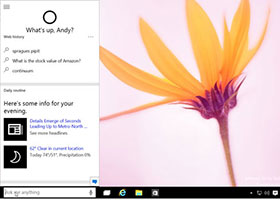 Cortana, Your Windows 10 Digital Assistant