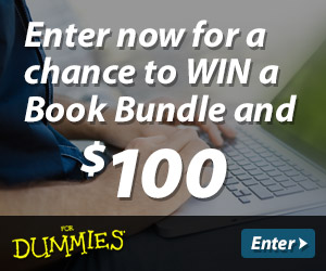 Enter now for a chance to win a book bundle and $100