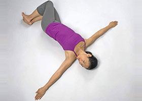 How to Do Reclining Yoga Twist Postures