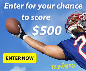 Enter now for your chance to score $500