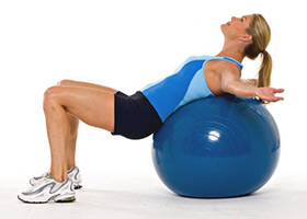 How to Do a Backbend Stretch on an Exercise Ball