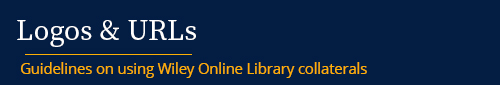 Wiley Online Library - Logos and URLs