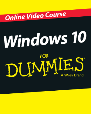Wiley Windows 10 For Dummies Online Video Course