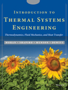 Introduction to Thermal Systems Engineering: Thermodynamics, Fluid Mechanics, and Heat Transfer (0471204900) cover image