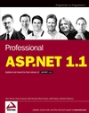 Professional ASP.NET 1.1 (0764558900) cover image